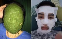 Khi đắp mặt nạ là một nghệ thuật, nhưng bạn bỗng nhận ra mình không phải là nghệ sĩ!