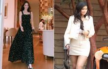 """Chẳng cần ưỡn mông khoe ngực, street style tuần qua của Ngọc Trinh và Kylie Jenner """"hiền"""" đến lạ"""