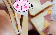 Góc cảnh giác: Quá tin vào bao bì, cô gái mua phải chiếc sandwitch lừa tình nhất MXH