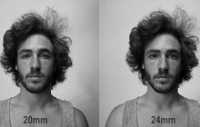 Tiêu cự ống kính có thể khiến bạn trông béo hơn 4,5kg khi lên ảnh