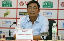 """Sau vụ chửi, dọa """"xử"""" Phó ban trọng tài, ông Trần Mạnh Hùng xin từ chức"""