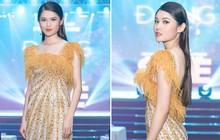 """Trang điểm xinh rạng ngời, thần thái miễn chê nhưng Á hậu Thùy Dung vẫn """"mất điểm"""" vì chọn váy quá rườm rà"""