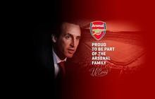 HLV Unai Emery tự hào là một thành viên của gia đình Arsenal
