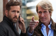 """""""Deadpool"""" Ryan Reynolds hợp tác ông hoàng cháy nổ Michael Bay làm phim kinh phí khủng của Netflix"""