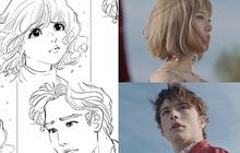 """Mừng MV mới đạt triệu view, Min tung bản phác họa và """"cơ duyên"""" chọn mẫu Tây điển trai"""