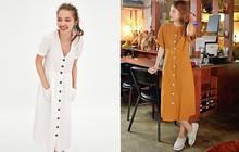Mẫu váy trắng của Zara đang hot quá, bao cô nàng diện, bao nhãn hàng tung ra thiết kế ăn theo