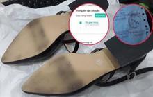 Cô gái mua giày cao gót về đi thử 8 ngày mòn cả đế rồi đòi trả lại shop vì lý do hơi rộng