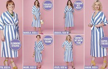 Cùng thử 1 mẫu váy liền siêu tôn dáng, nhưng 6 người phụ nữ này lại có cảm nhận hoàn toàn khác nhau