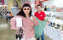 """Juno bán xăng đan 50k - Đến Trang Hí cũng lùng sục """"săn hàng"""""""