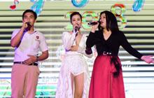 """Đông Nhi, Han Sara khuấy động gala chung kết """"Giai điệu yêu thương"""""""