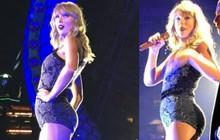 Mặc đồ bó sát, Taylor Swift lộ rõ bụng ngày càng béo ra, vòng 3 cũng đẫy đà hơn trước