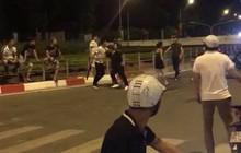 Hà Nội: Hai nhóm côn đồ cầm dao rượt đuổi, hỗn chiến ngay hầm Kim Liên