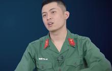 """Sao nhập ngũ: Đánh nhau trên phim """"oách"""" là thế, Gin Tuấn Kiệt vẫn bị """"kẻ gian"""" quật ngã khi gác đêm"""