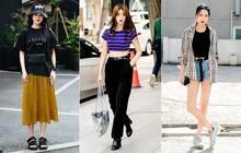 """Chỉ diện toàn đồ mà ai cũng có sẵn nhưng giới trẻ Hàn vẫn hô biến nên street style quá """"đỉnh"""""""