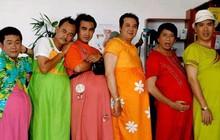 Bạn có nhớ 13 năm trước, một biệt đội đàn ông mang bầu từng oanh tạc màn ảnh Việt?