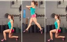Nhảy cắt kéo - bài tập đơn giản giúp làm săn chắc toàn bộ cơ thể