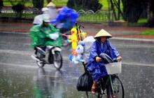 Chấm dứt nắng nóng, miền Bắc mưa dông kéo dài đến hết tuần