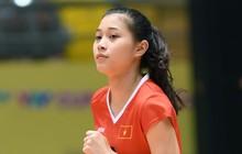 Hoa khôi bóng chuyền 16 tuổi Đặng Thu Huyền hâm mộ Bùi Tiến Dũng