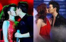 """Những màn khóa môi say đắm trên sân khấu của các cặp ca sĩ Vpop khiến fan """"đỏ hết cả mặt"""""""