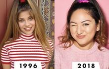 Cô nàng này đã chứng minh rằng loạt phụ kiện tóc cách đây hơn 20 năm vẫn còn rất hợp mốt