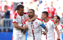 Kolarov đá phạt thần sầu, Serbia giành 3 điểm ngày ra quân World Cup 2018