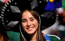 Fan nữ Mexico lấn át nhan sắc Đức trên khán đài World Cup 2018