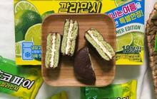 """Bánh Choco Pie mới có cả tác dụng giảm cân của Hàn Quốc khiến """"hội con gái"""" đứng ngồi không yên"""