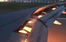 Máy bay chở đội tuyển Saudi Arabia bốc cháy trên không