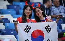 Bóng hồng Hàn Quốc khoe sắc trên khán đài World Cup 2018