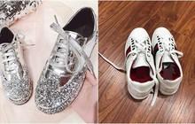 """Đặt giày nữ lấp lánh qua mạng, cô gái """"khóc thét"""" khi nhận được đôi giày nam, còn bị shop """"lơ đẹp"""" khi phản hồi về sản phẩm"""