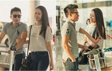 Ông xã doanh nhân ra sân bay tiễn Dương Thùy Linh lên đường đi thi Mrs Worldwide 2018