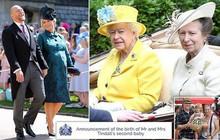 """Chưa được 2 tháng tuổi, Hoàng tử Louis đã bị em gái họ mới sinh giành danh hiệu """"em bé nặng cân nhất Hoàng gia Anh"""""""