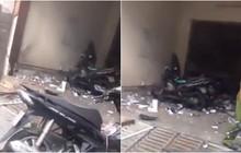 Xe máy phát nổ tại trụ sở công an phường ở Sài Gòn, 1 nữ cảnh sát bị thương