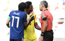 Cầu thủ bị dọa giết vì nhận thẻ đỏ ở World Cup 2018