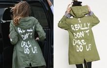 """Đi thăm trẻ em bị tách khỏi cha mẹ mà lại mặc áo in chữ """"Tôi không quan tâm"""", Đệ nhất phu nhân Mỹ bị chỉ trích dữ dội"""