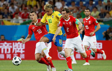 TRỰC TIẾP Brazil - Costa Rica: Neymar vẫn đá chính mặc chấn thương