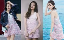 """Dáng """"chuẩn từng milimet"""" nhưng liệu Jennie có bị lấn át khi diện chung 1 mẫu váy với cả loạt sao Hoa ngữ?"""