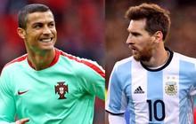 """""""Ronaldo gánh team tốt hơn Messi"""""""