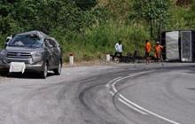 Hai ô tô va chạm trên đèo Ngoạn Mục, 7 người may mắn thoát chết