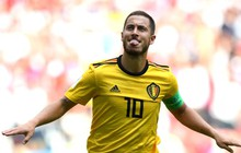 Song sát Lukaku và Hazard tỏa sáng giúp Bỉ đại thắng trước Tunisia