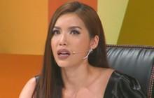 Minh Tú bật khóc trên truyền hình khi chia sẻ về quãng thời gian trầm cảm