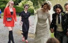 """Loạt sao xúng xính váy áo dự đám cưới đẹp như mơ của Jon Snow và Ygritte phim """"Game of Thrones"""""""