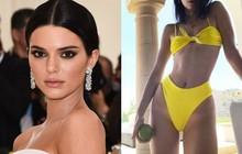 Kendall Jenner mặc bikini khoét hông cao khoe da thịt đầy táo bạo