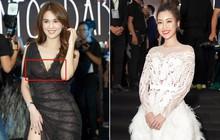Cùng thảm đỏ: Hoa hậu Mỹ Linh diện váy lông cầu kì, Ngọc Trinh để lộ cả 2 miếng dán ngực dày cộm