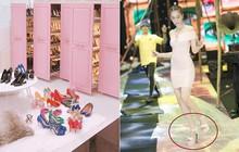 Sở hữu cả kho giày hiệu, thế mà Ngọc Trinh hết lần này đến lần khác chọn sai giày