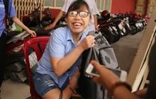 Nụ cười rạng rỡ, lạc quan của thí sinh khuyết tật với ước mơ trở thành giáo viên cho người khiếm thính