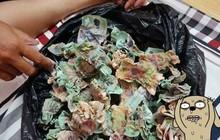 """Để quên túi tiền 100 triệu dưới máy phát điện, gia chủ cay đắng nhận về đống """"nhựa chiên xù"""""""