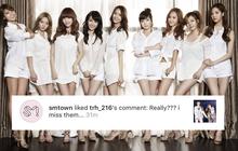 Hết hợp tác với Jessica lại like ảnh Taengsic thân thiết, SM đang ngầm ám chỉ về sự tái hợp?