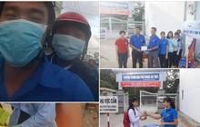 Sát giờ thi nhưng học sinh chưa đến, thầy giáo ở Kiên Giang chạy xe đến tận nhà để đón học trò