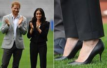 Lời lý giải cho việc Công nương Meghan luôn đi giày cao gót, bất chấp trên cả nền sân cỏ